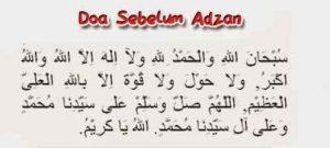 Doa Sebelum Adzan Islamedia